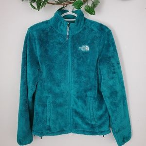 The North Face | Teal Soft Zip Up| Size S | EUC!